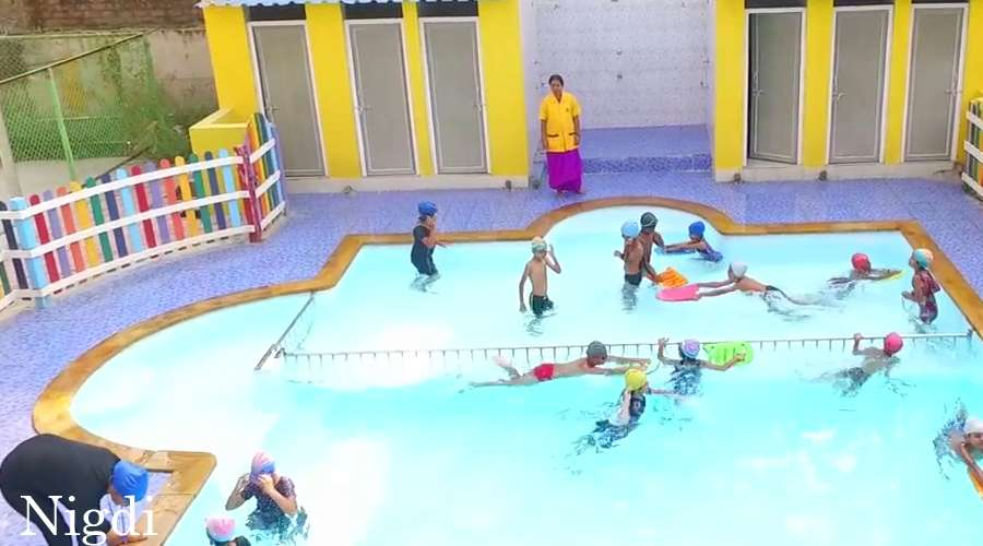 1 infrastructure schools in bangalore hyderabad pune Mark morris high school swimming pool