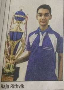 Chess Chamionship Winner - Orchids Hyderabad
