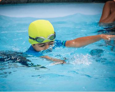 Top international school in bangalore mumbai hyd for Pool design kg