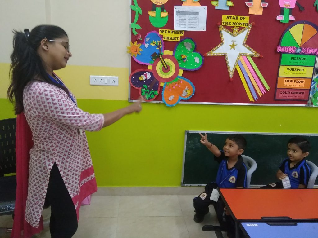 By engaging in small talks, children will soon overcome Public Speaking fear