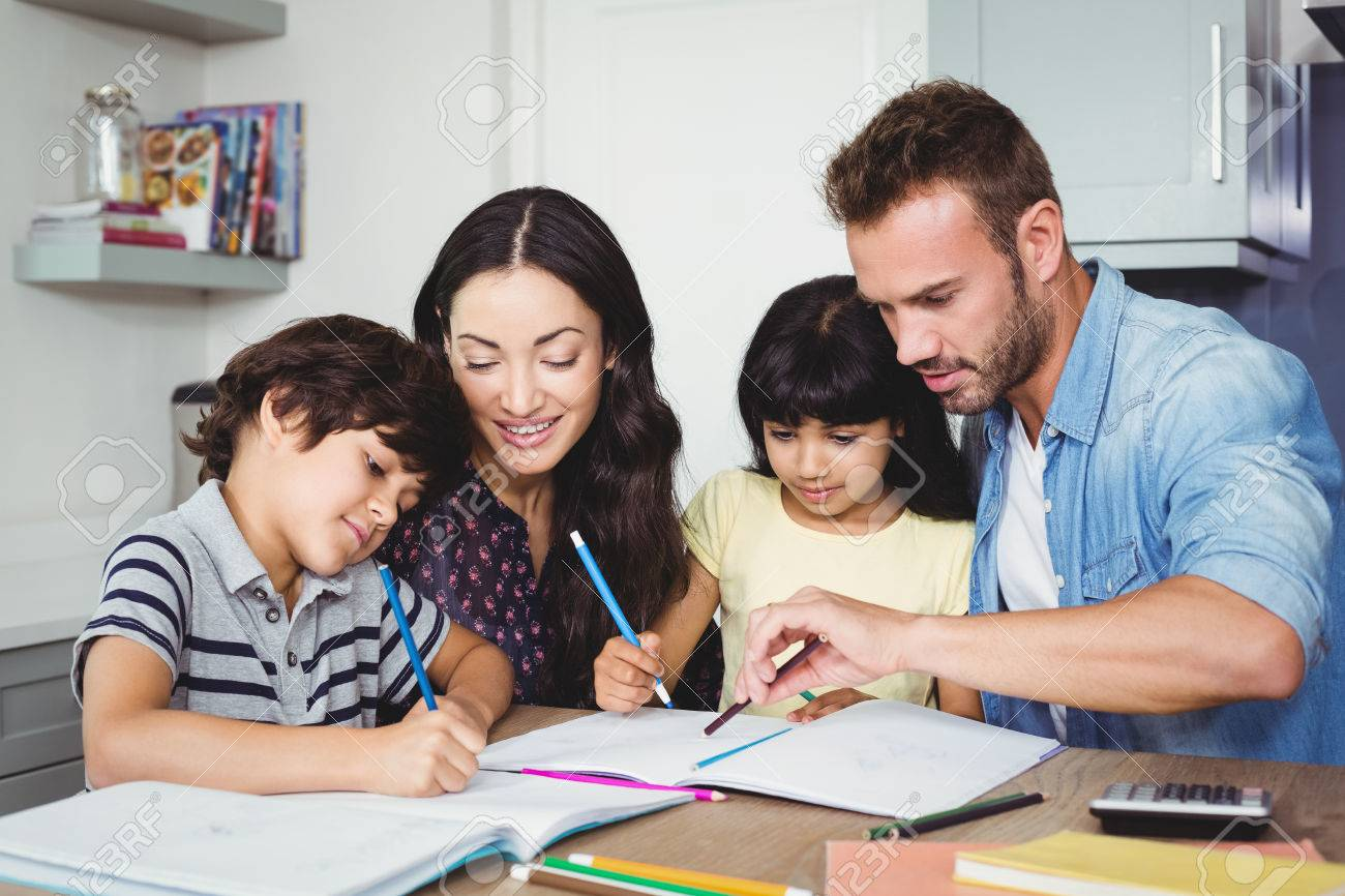 Tips while assisting your little ones with homework