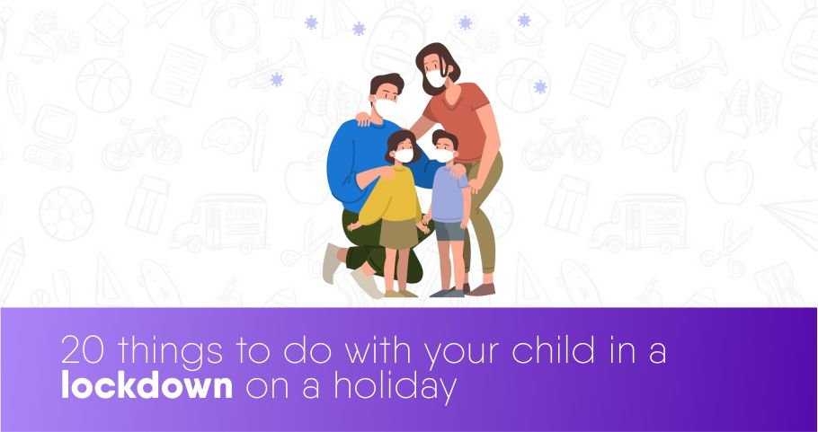 20 Creative Activities For Kids in Lockdown