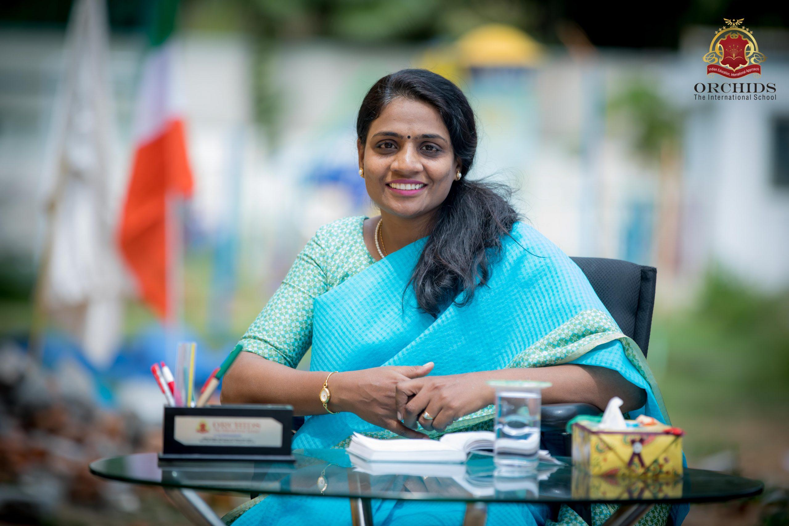 Principal Manjula | CBSE Schools in BTM Layout