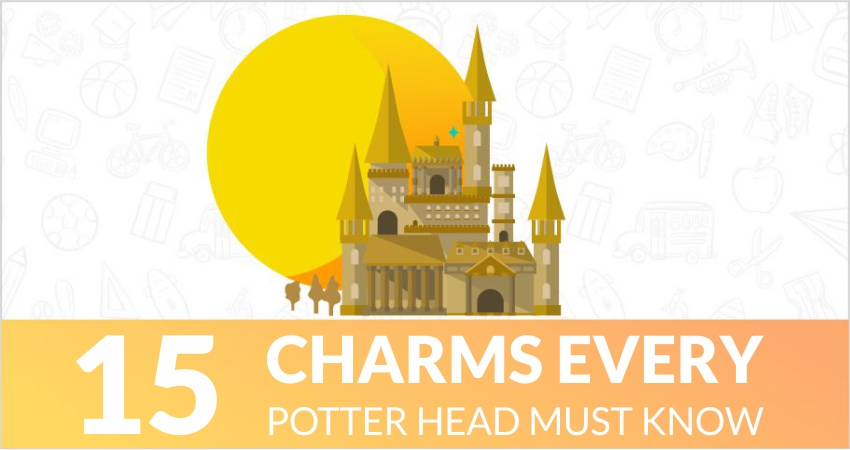 15 charms every Potterhead must know