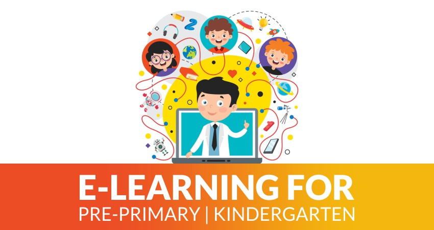 E-learning for pre-primary/kindergarten