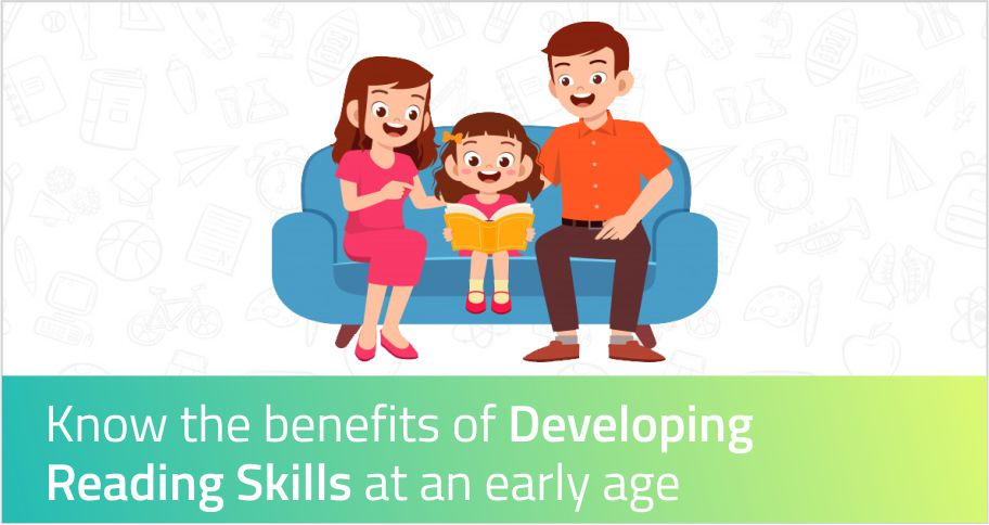 Know the benefits of developing reading skills for children at an early age