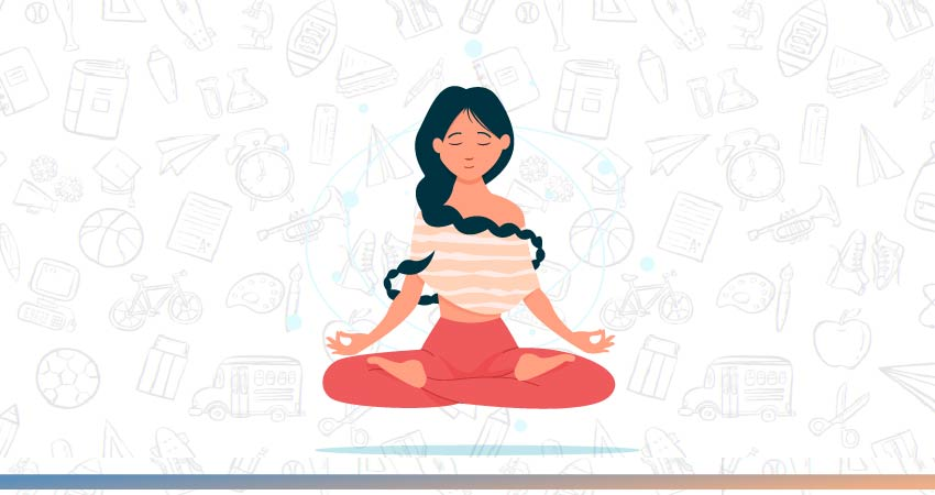 Meditation | Tips to Improve immunity in Kids