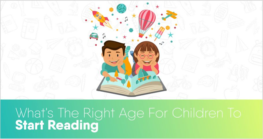 What's the right age for children to start reading