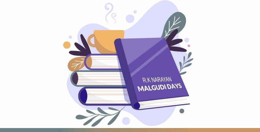 malgudi days cover picture of the story book