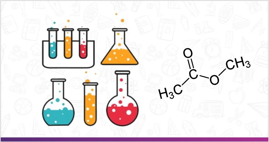 the image showing the structural formula of acetate  | Top Schools in India