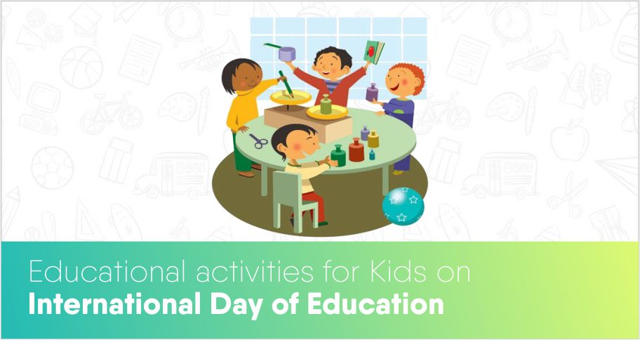 Educational activities for Kids on International education day