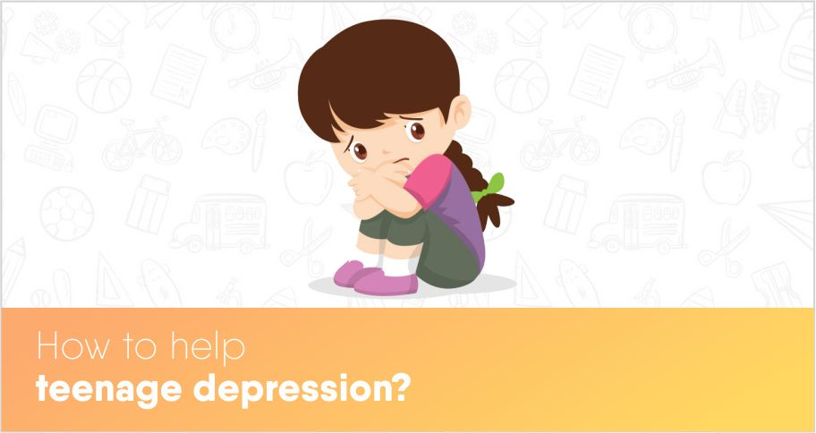 How to help teenage depression?