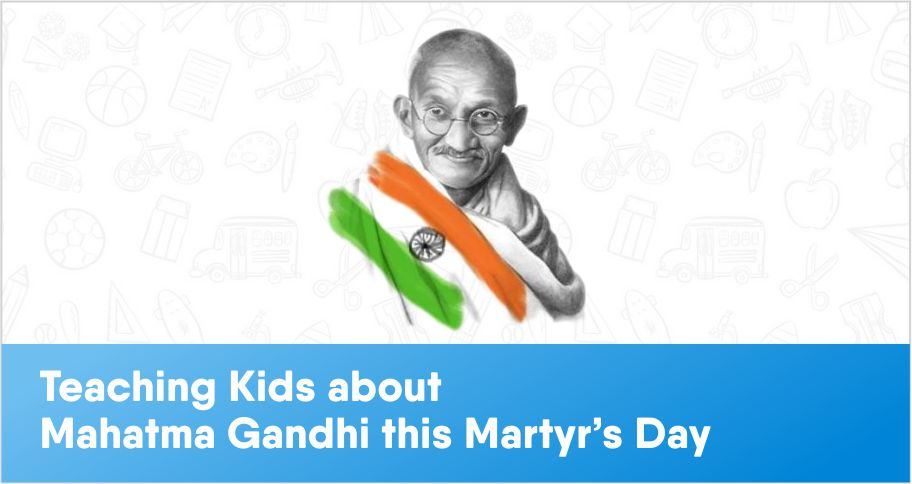 Teaching Kids about non-violence this Martyr's Day