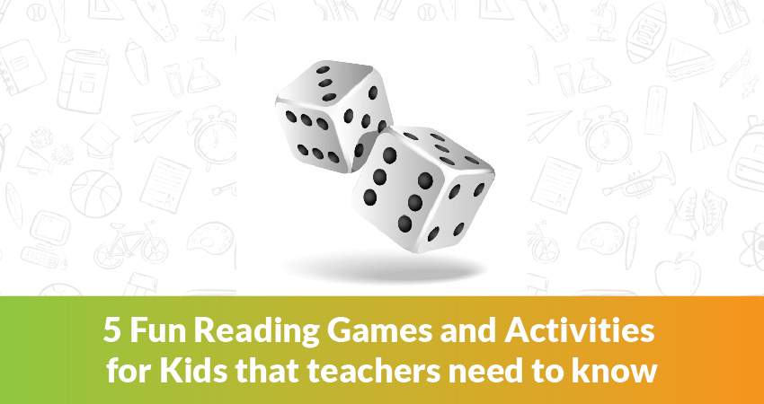 5 Fun Reading Games and Activities for Kids that teachers need to know