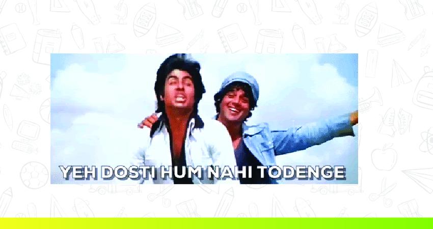 """Jay Veeru of Sholay singing """"Ye Dosti Hum Nahi Todenge"""""""