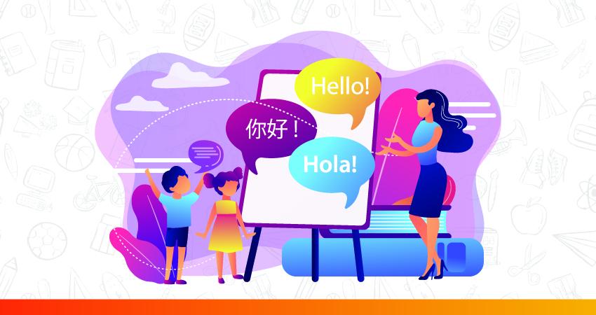 learning dual language improves communication