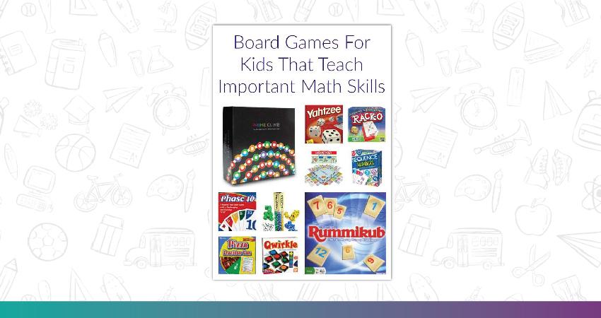 Board Games That Enhance Math Skills