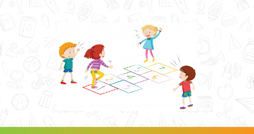 hopscotch is one of the best games for kids