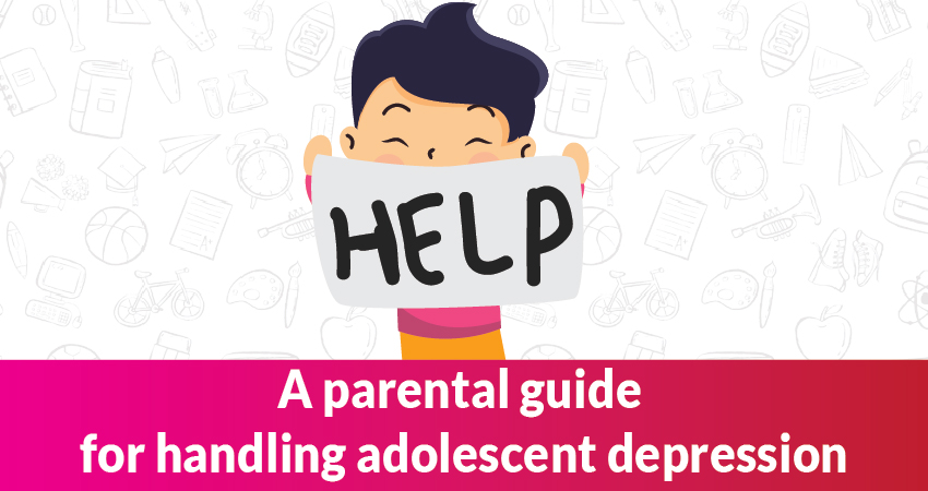 How to help teenagers suffering from Adolescent depression