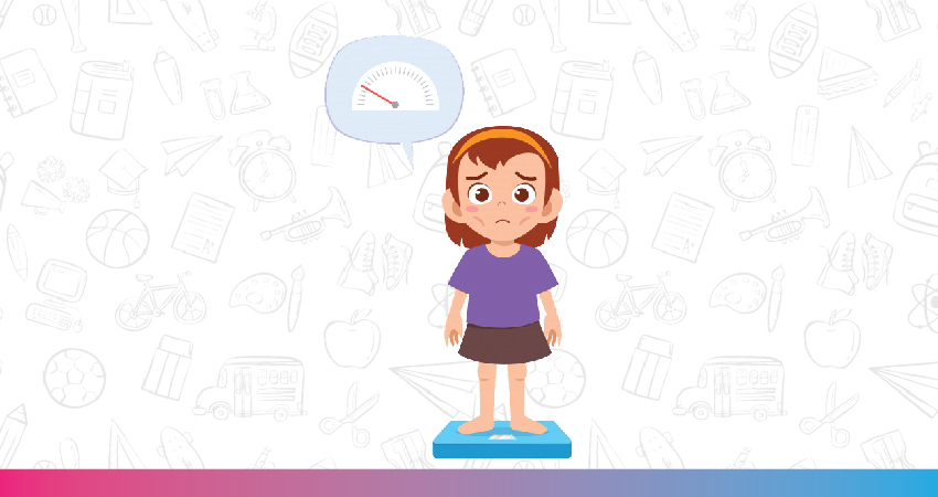 physical symptoms of anorexia in children