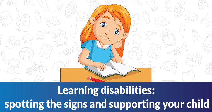 6 Signs that your kid might have a learning disability