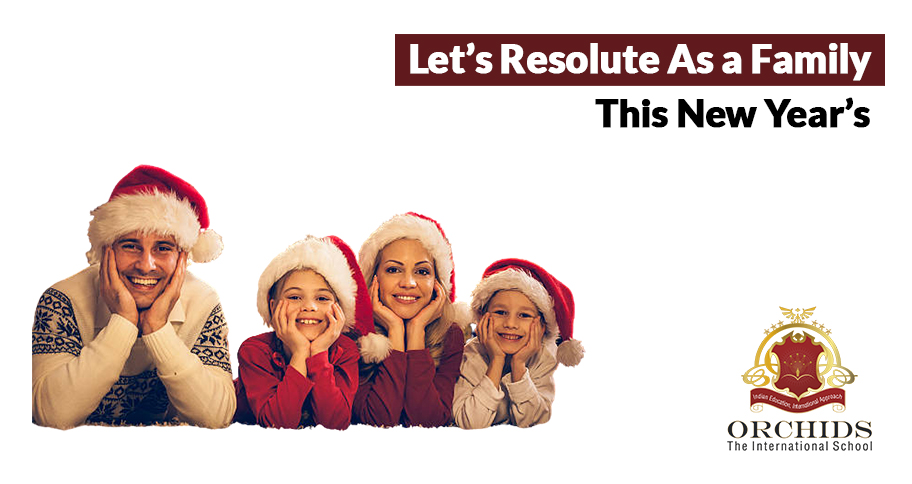 New Year's Resolution for Kids and Parents!