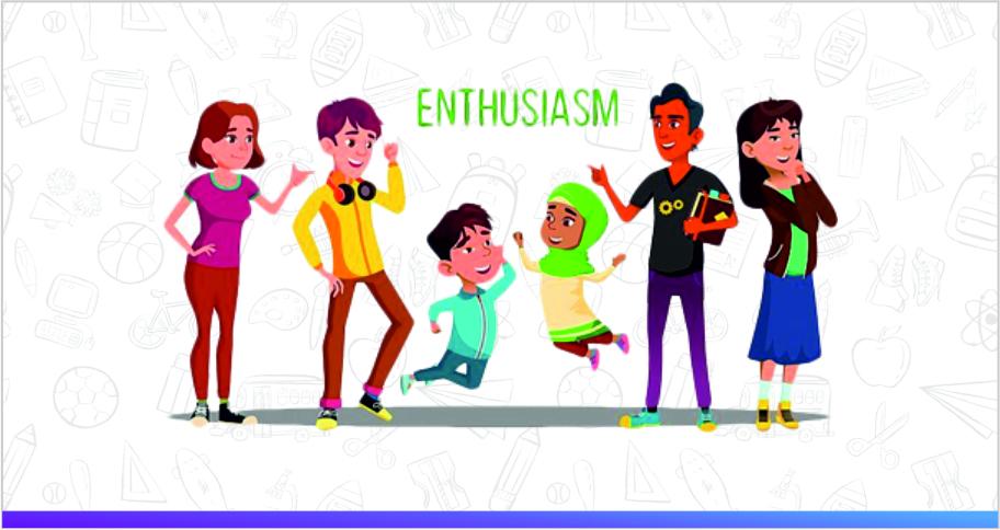 international schools encourage enthusiasm in kids
