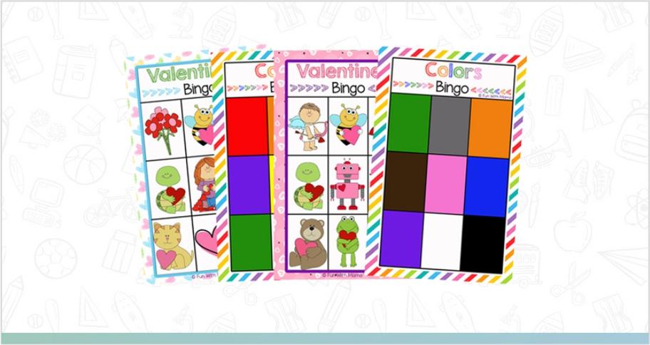bingo is a fun word game for kids