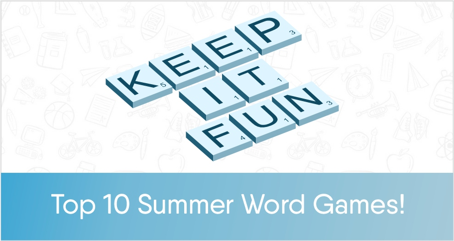 10 Word Games for Kids-No time for Flash Cards