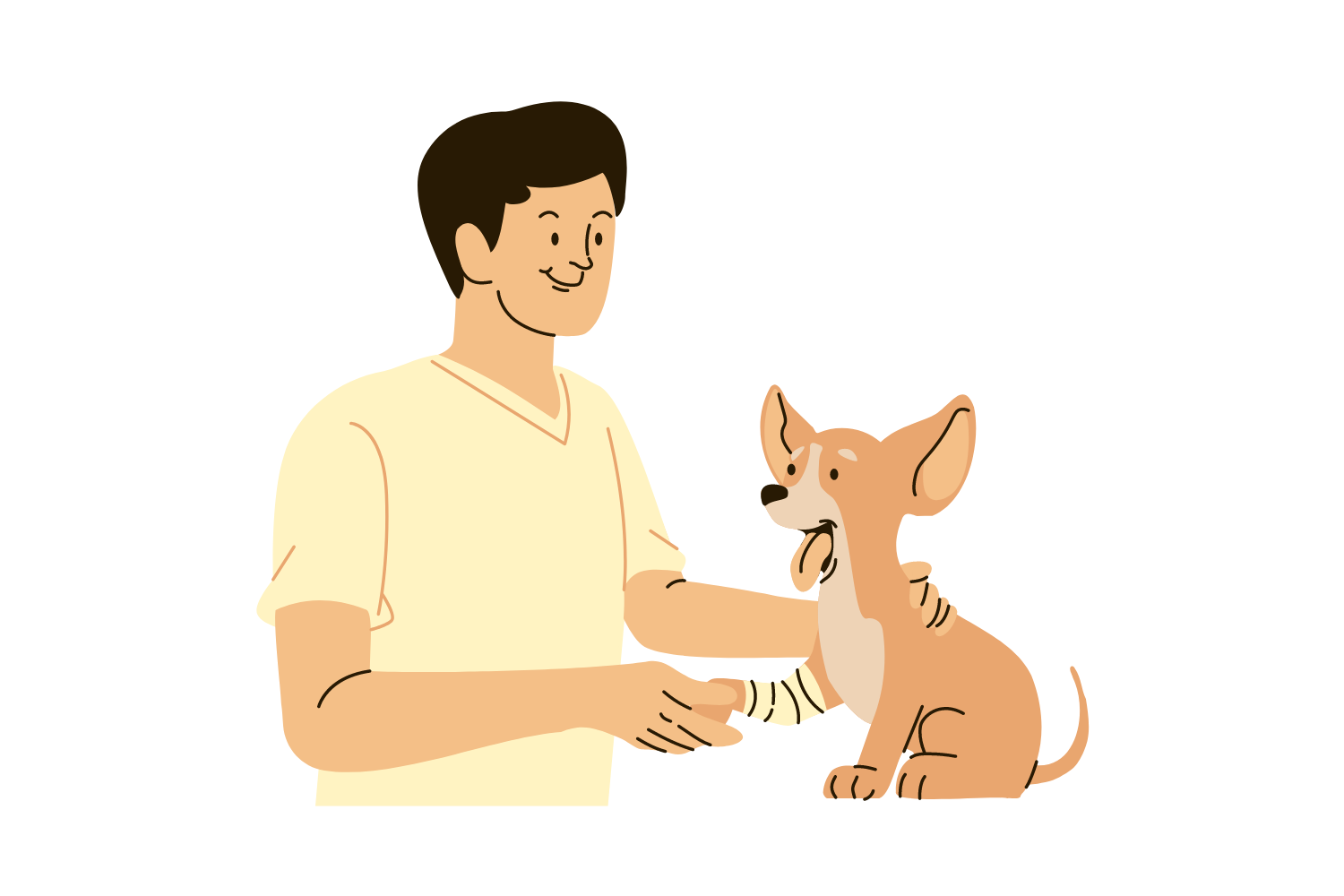 Caring for animals is empathy