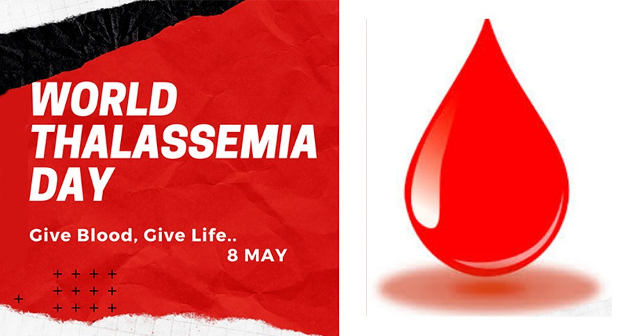 Give blood, Give life - This Thalassemia Day
