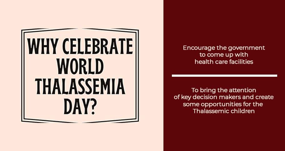 Why celebrate International Thalassemia Day