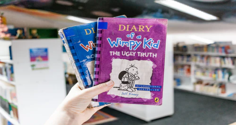 Diary of a WImpy Kid books may raise a confident child