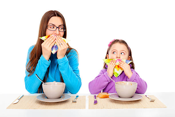 teaching table manners to kids