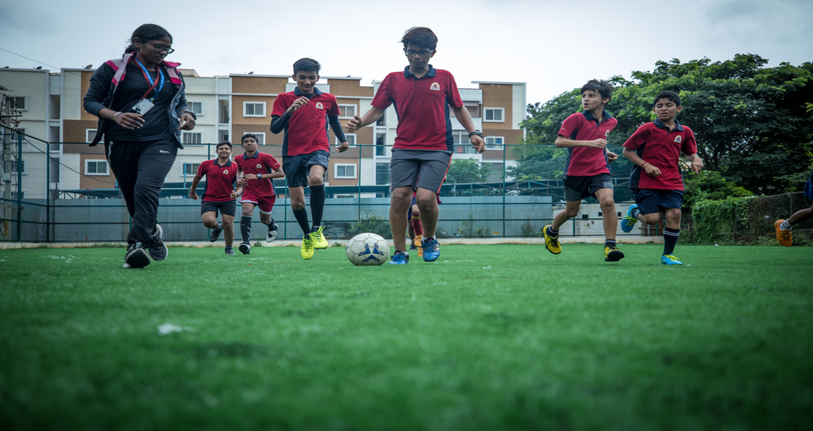 extracurricular activities such as sports given equal importance in international schools
