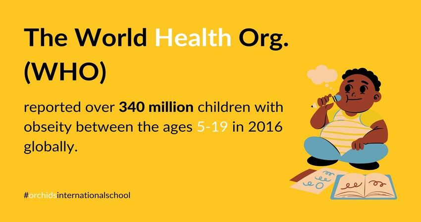 WHO's report on obesity in children worldwide