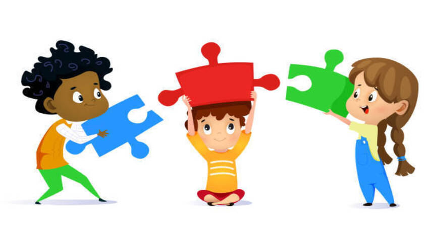 play mind games and puzzles to build memory skills in children