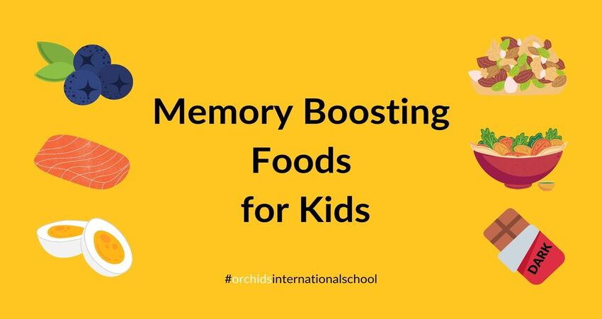 types of foods for kids to boost memory