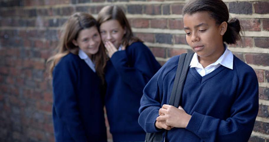 few girls Bullying at school
