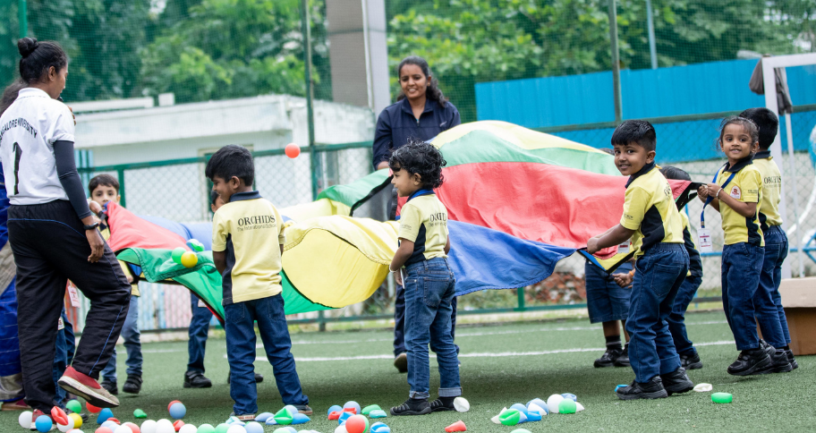 kids enjoying activity together
