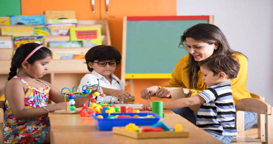 secondary curriculum over pre-primary education